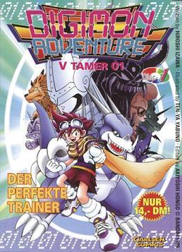 Digimon Adventure V-Tamer 01 Band 1