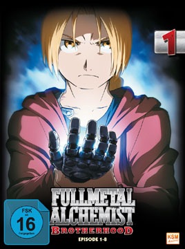 Fullmetal Alchemist Brotherhood Vol. 1