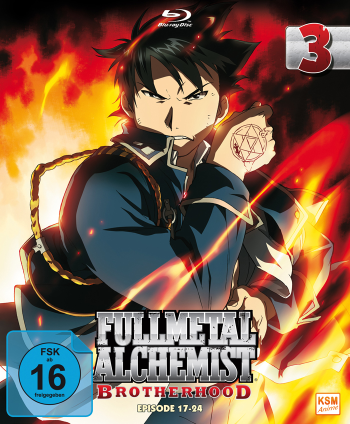 Fullmetal Alchemist Brotherhood Vol. 3
