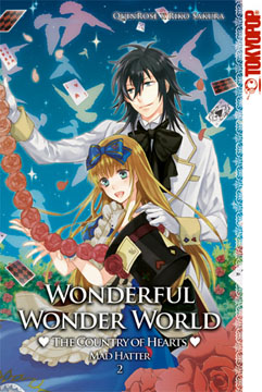 Wonderful Wonder World - The County of Hearts: Mad Hatter Band 2