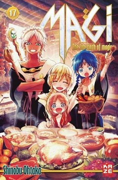 Magi - the labyrinth of magic Band 17