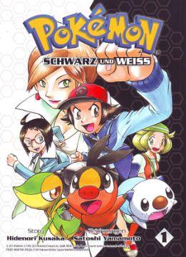 Pokémon Schwarz und Weiss Band 1