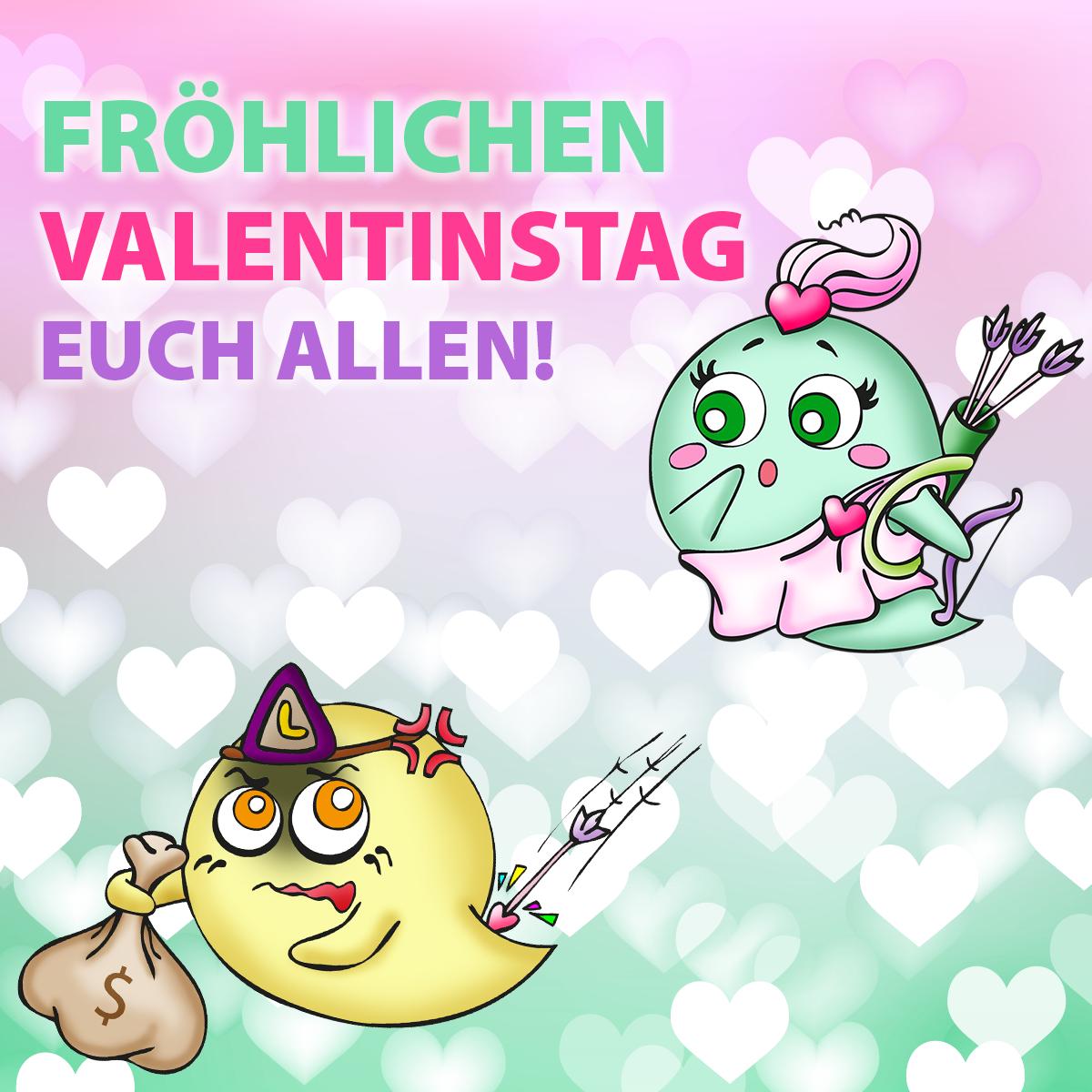 Einen Schönen Valentinstag Euch Allen Pummeldexde