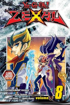 Yu-Gi-Oh! Zexal Band 8 en