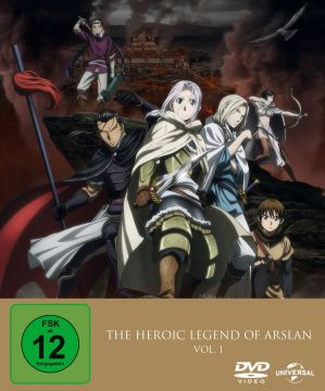 The Heroic Legend of Arslan Vol. 1 – Limited Premium Edition
