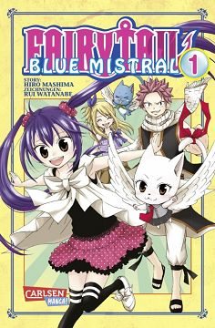 Fairy Tail Blue Mistral Band 1
