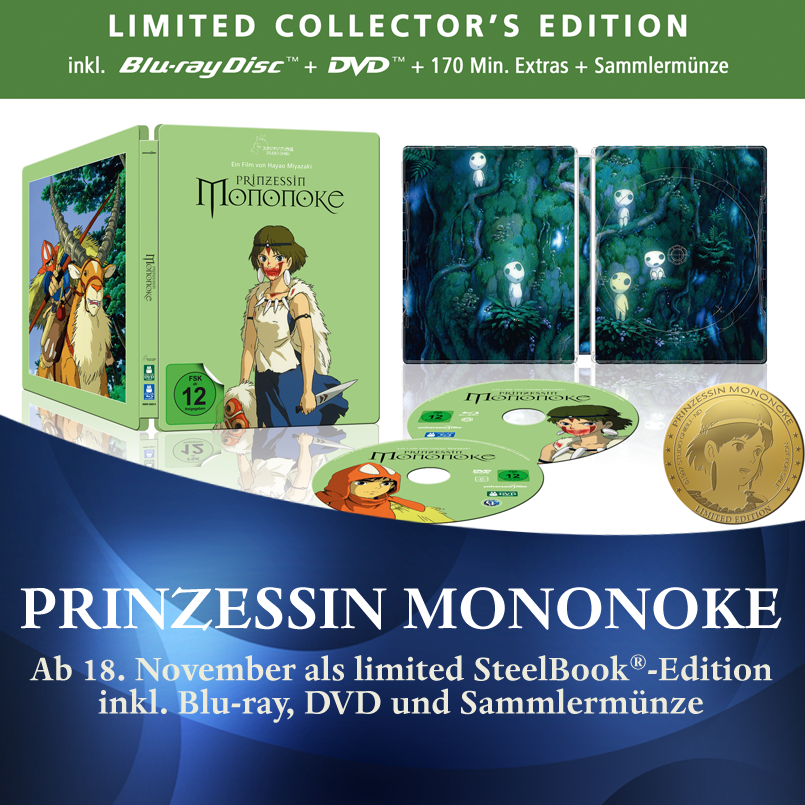 Prinzessin Mononoke Steelbook